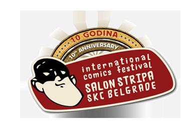 10. MEĐUNARODNI SALON STRIPA - 2012. Svecani-logo